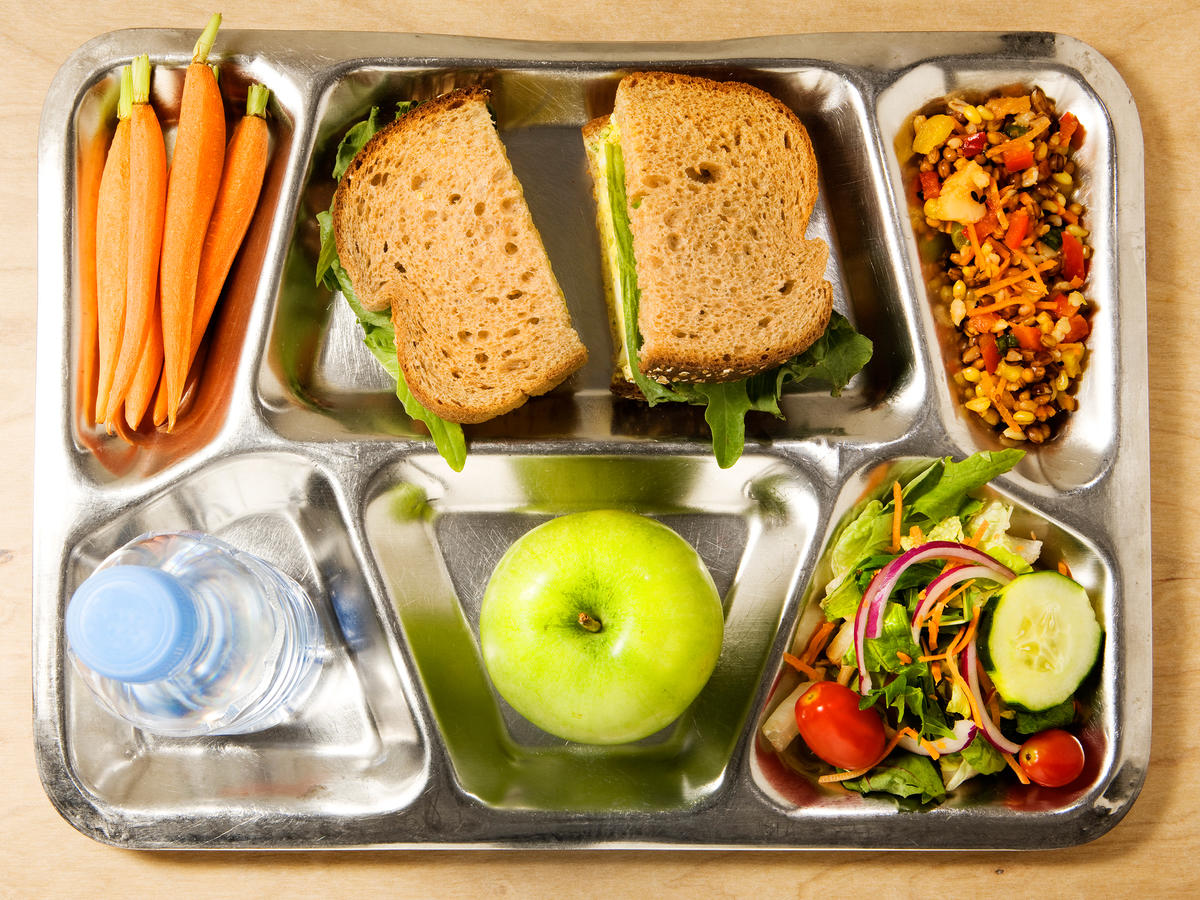Getty Healthy Lunch Tray