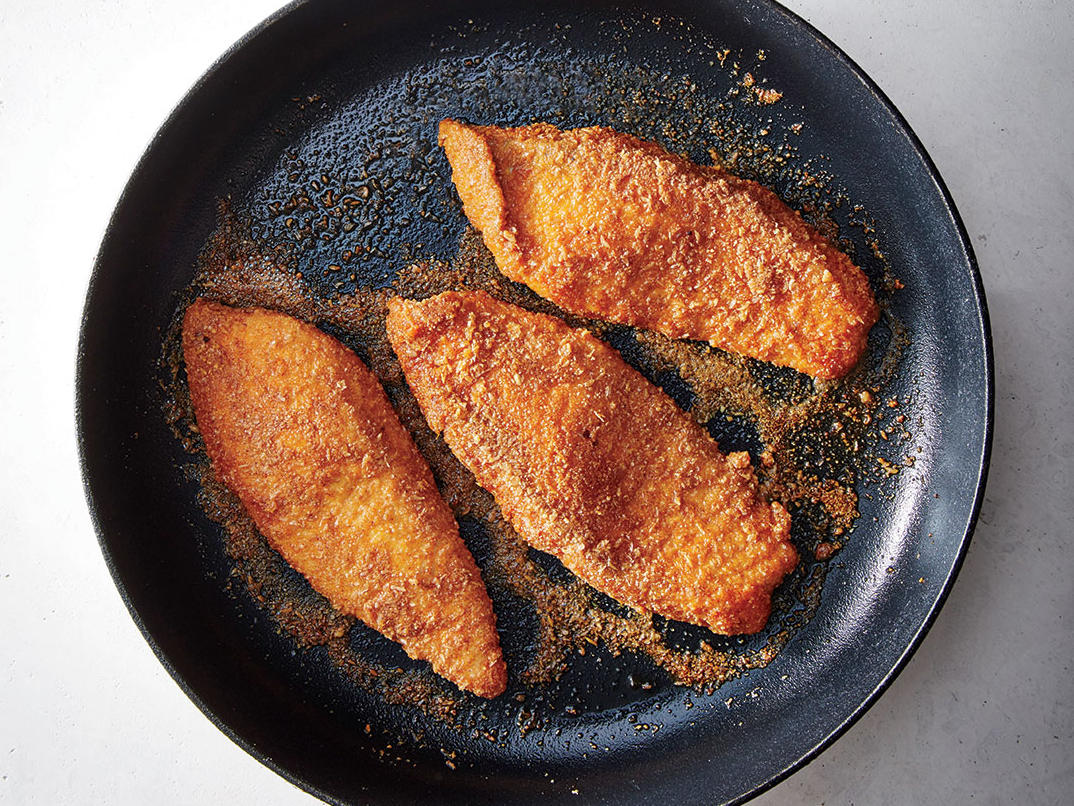 Almond-and-Flax-Crusted Fish Recipe - Cooking Light