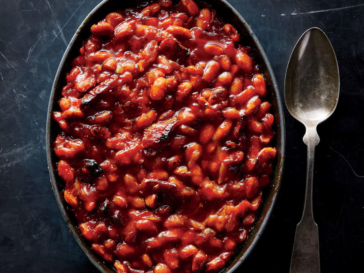 Maple Bacon Baked Beans Recipe Cooking Light