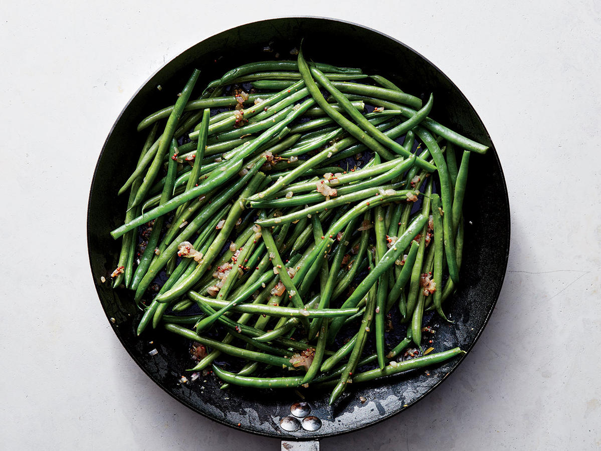 Healthy Green Bean Recipe for Thanksgiving