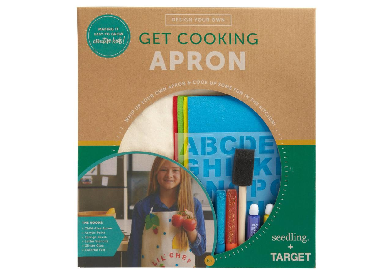 Seedling Design Your Own Get Cooking Apron