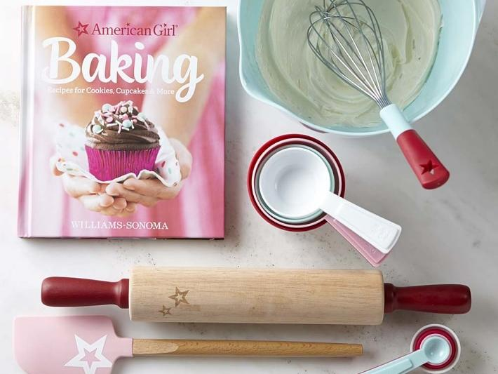 American Girl Baking Essentials Set and Cookbook Gift Set