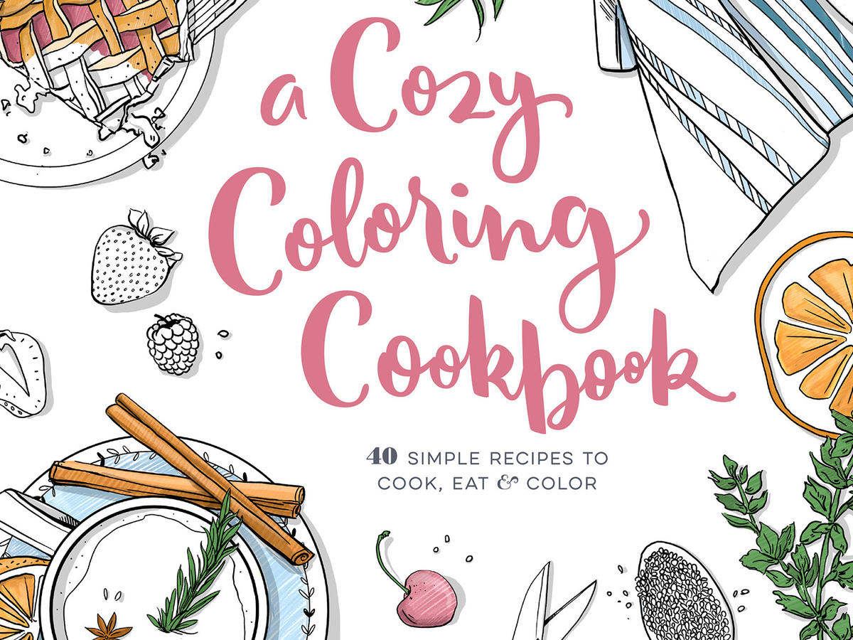 Cozy Coloring Cookbook