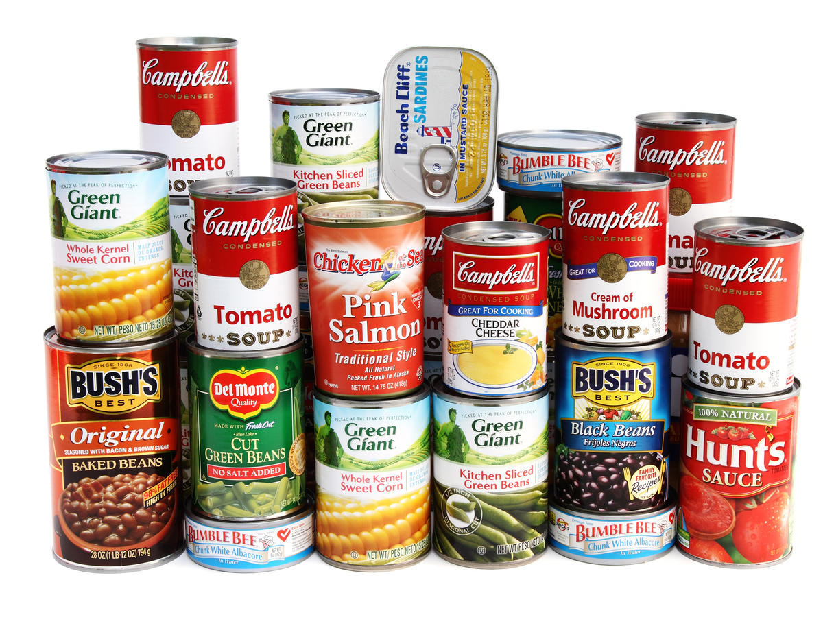 Storing Food In Aluminum Cans
