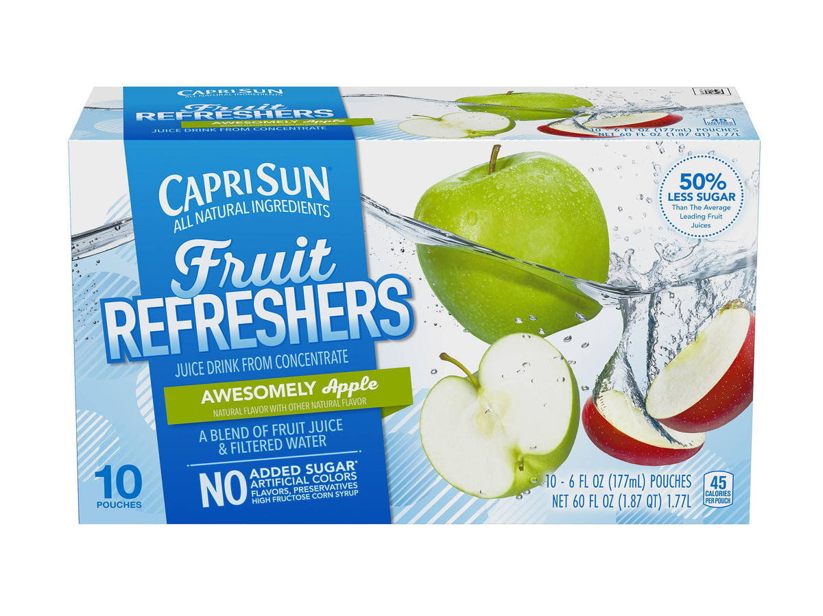 Capri Sun's New Juice Has 'No Sugar Added' – But There's a Catch
