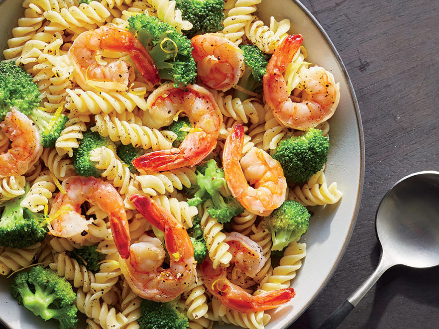 Shrimp and Broccoli Rotini