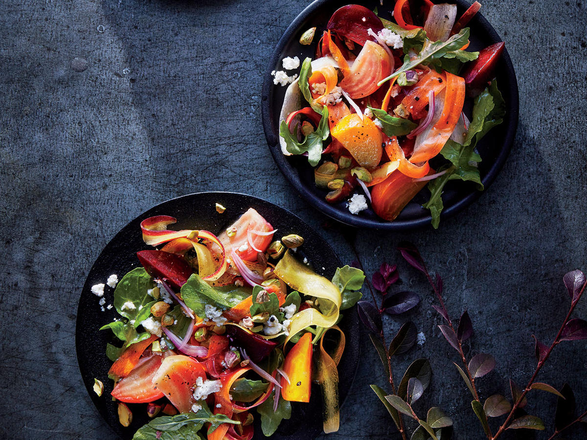 Tricolor Beet and Carrot Salad
