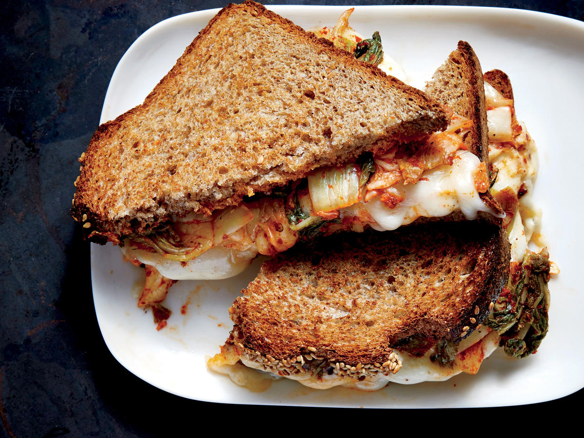 Wednesday: Kimchi Grilled Cheese