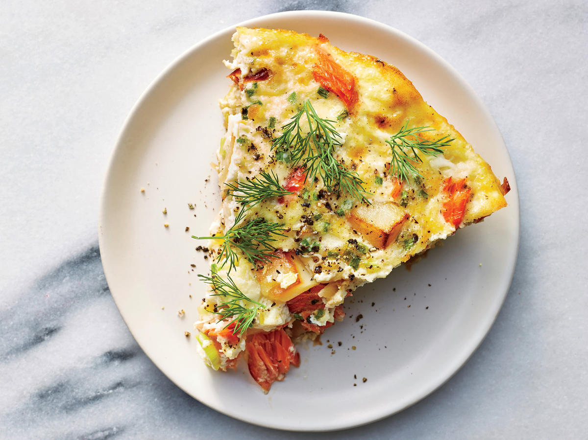 Smoked Salmon Breakfast Casserole
