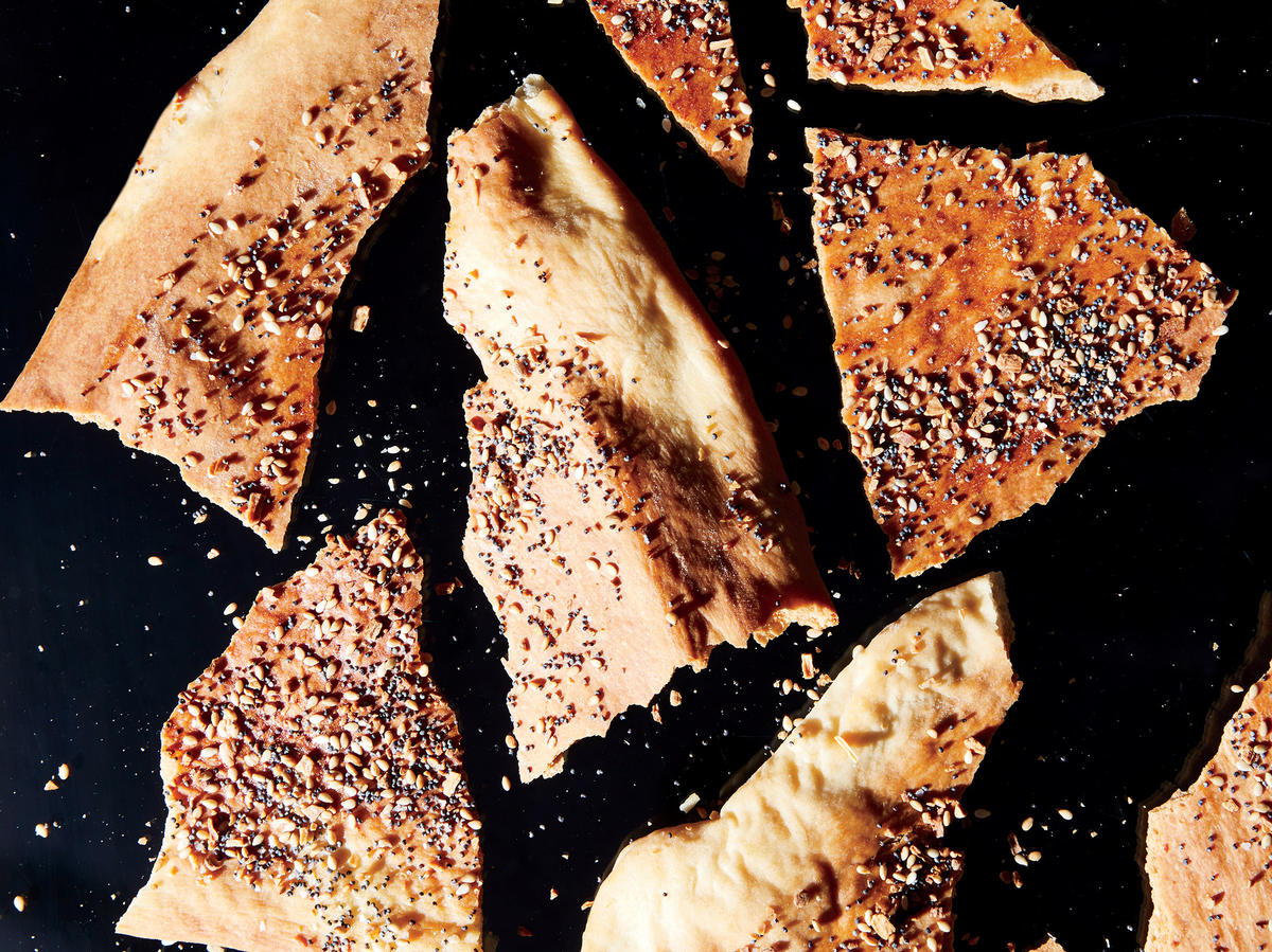 Everything Lavash Crackers