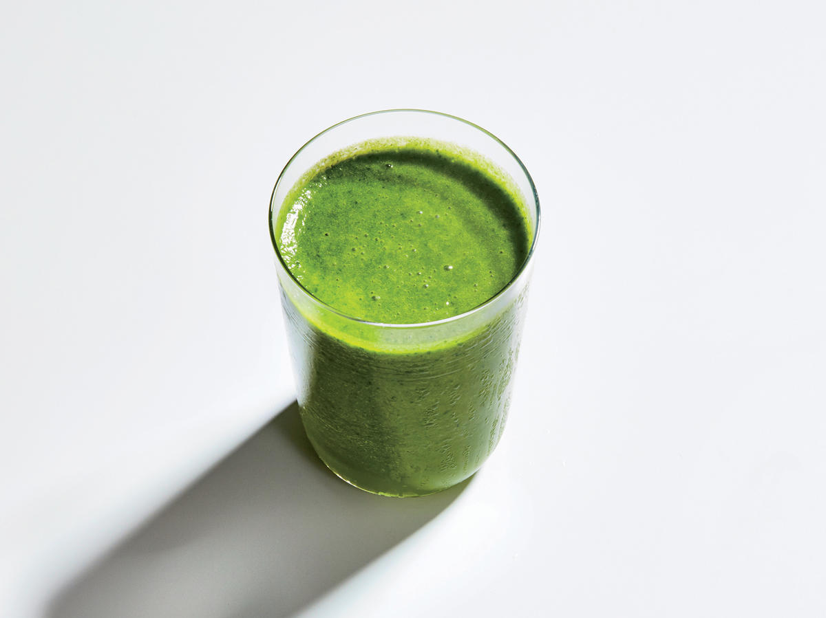 Supercharged Kale-Avocado Smoothie