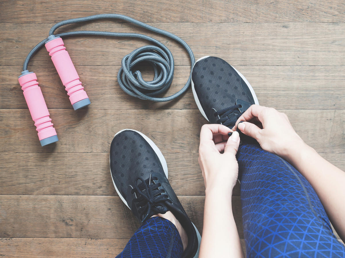 Jump Rope Workout at Home