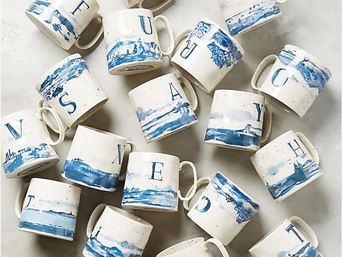 1712w Anthropologie Mugs