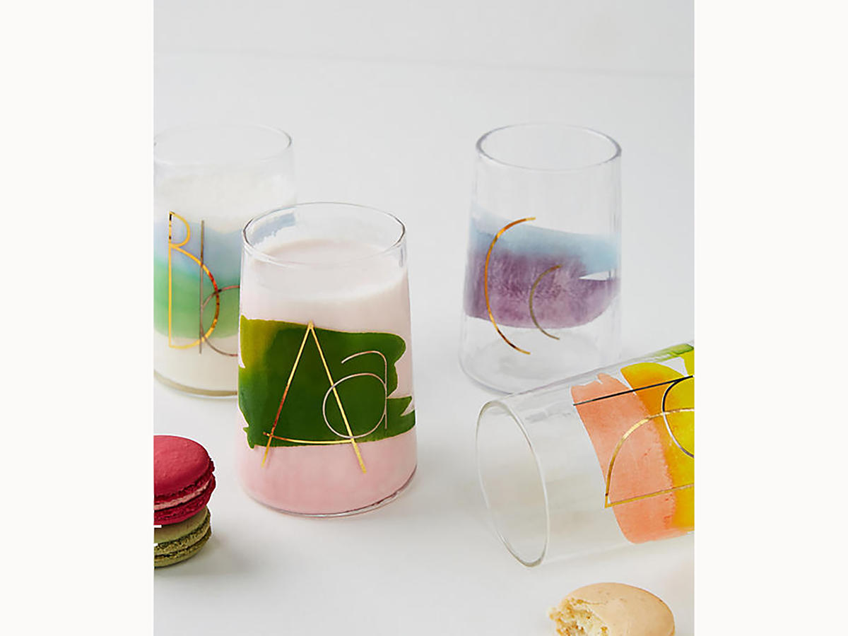 1712w Monogram Juice Glass