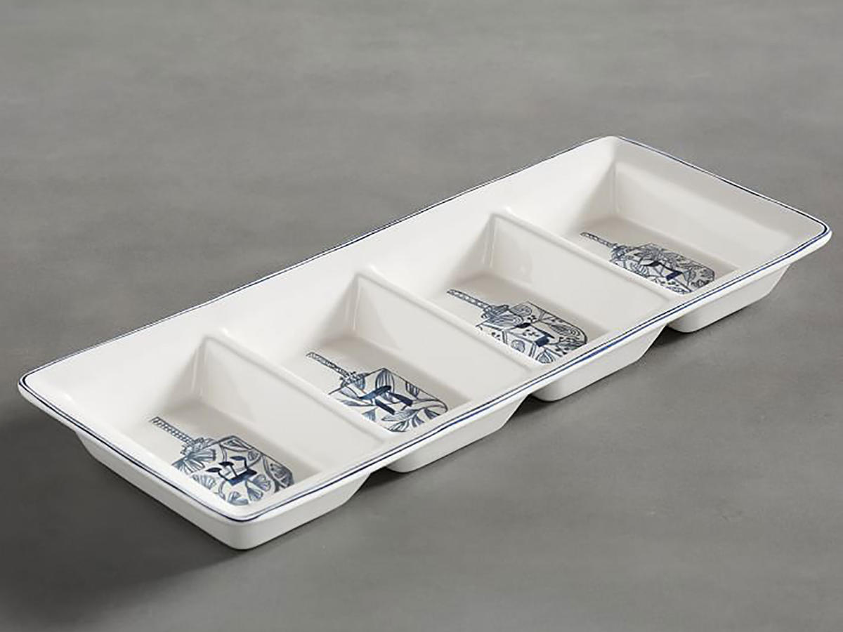 Hanukkah Celebration Icon Condiment Bowl