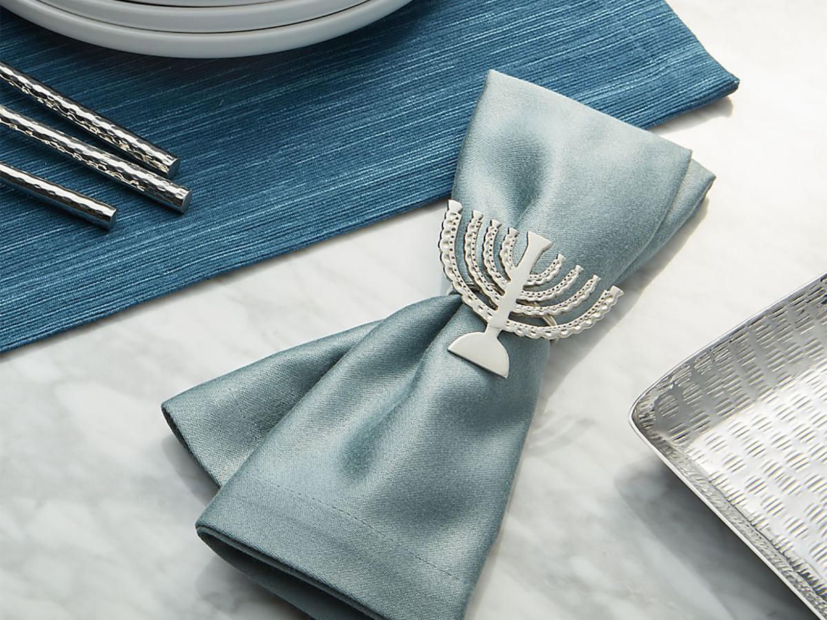 Menorah Napkin Ring