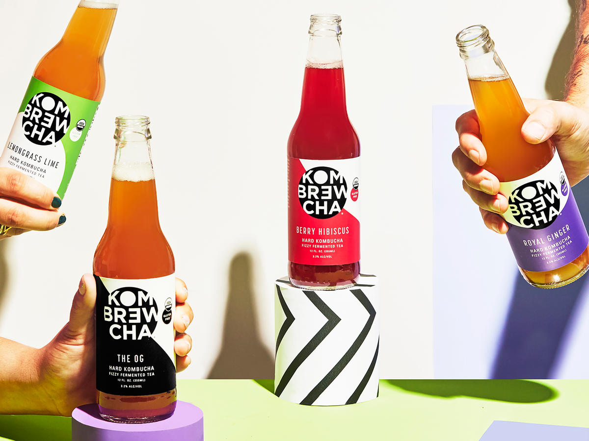 For a Healthy Alternative at Holiday Parties, Bring Some  Kombrewcha