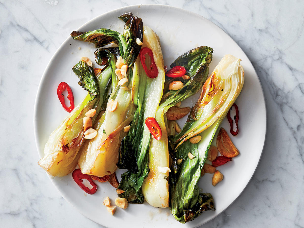 Ginger-Chile Bok Choy