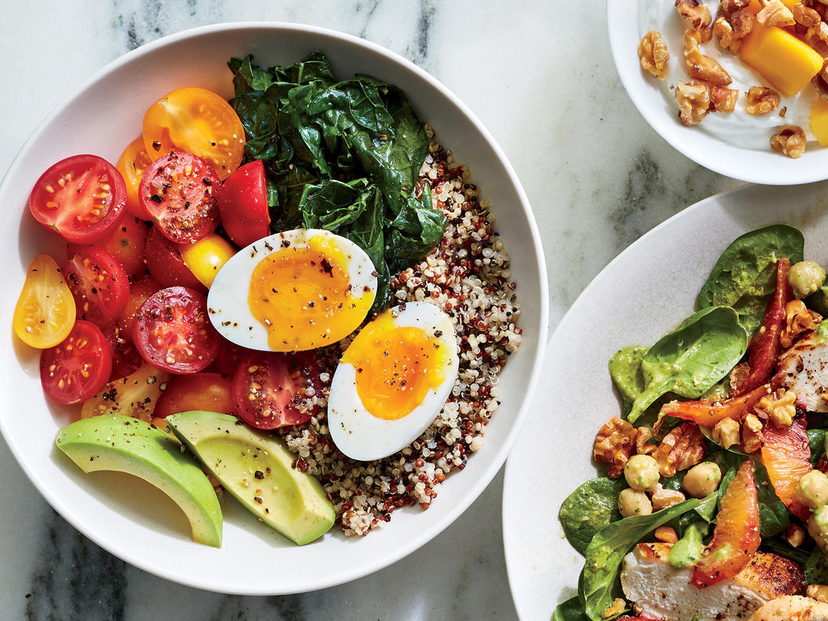 Quinoa Bowl with 6-Minute Egg