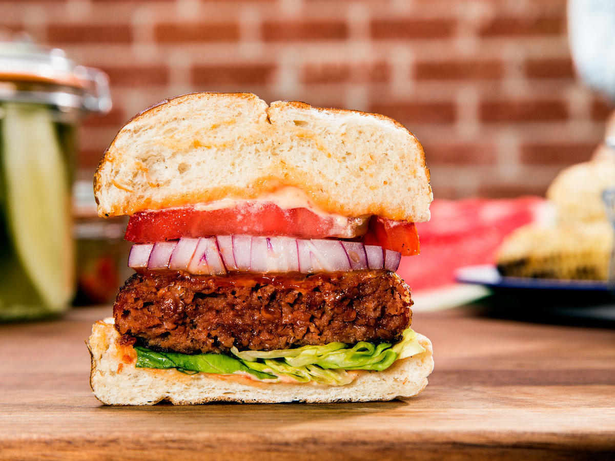 Why I Don't Need My Veggie Burger to Bleed