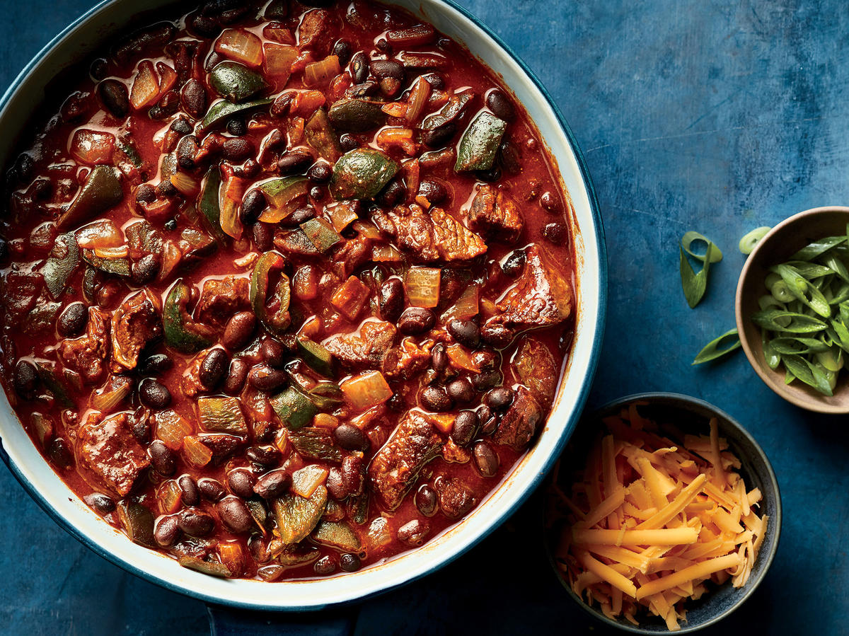 Cinnamon-Laced Chili