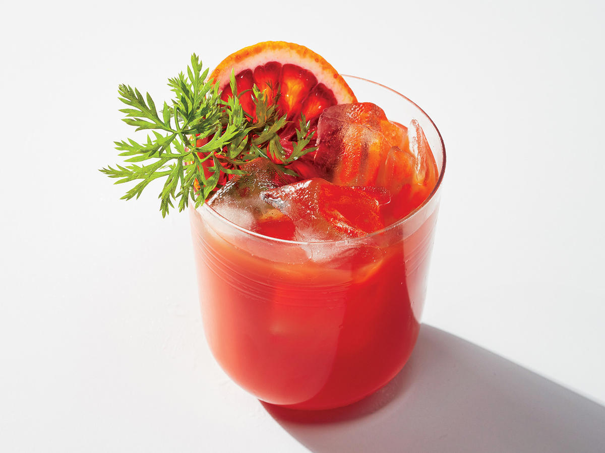 Cocktail Bonus: Carrot-Citrus Crush