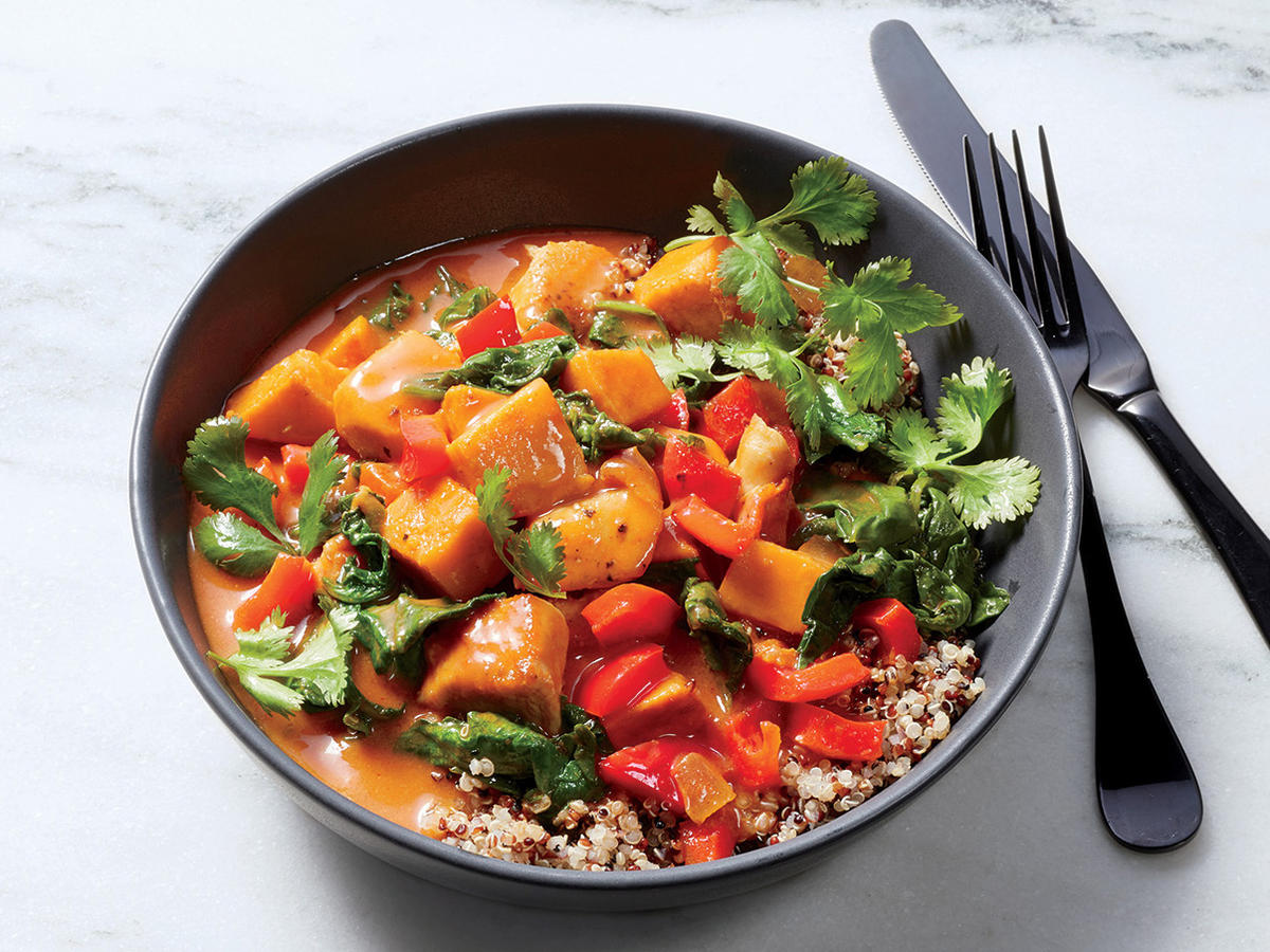 Thursday: Thai Chicken and Vegetable Curry