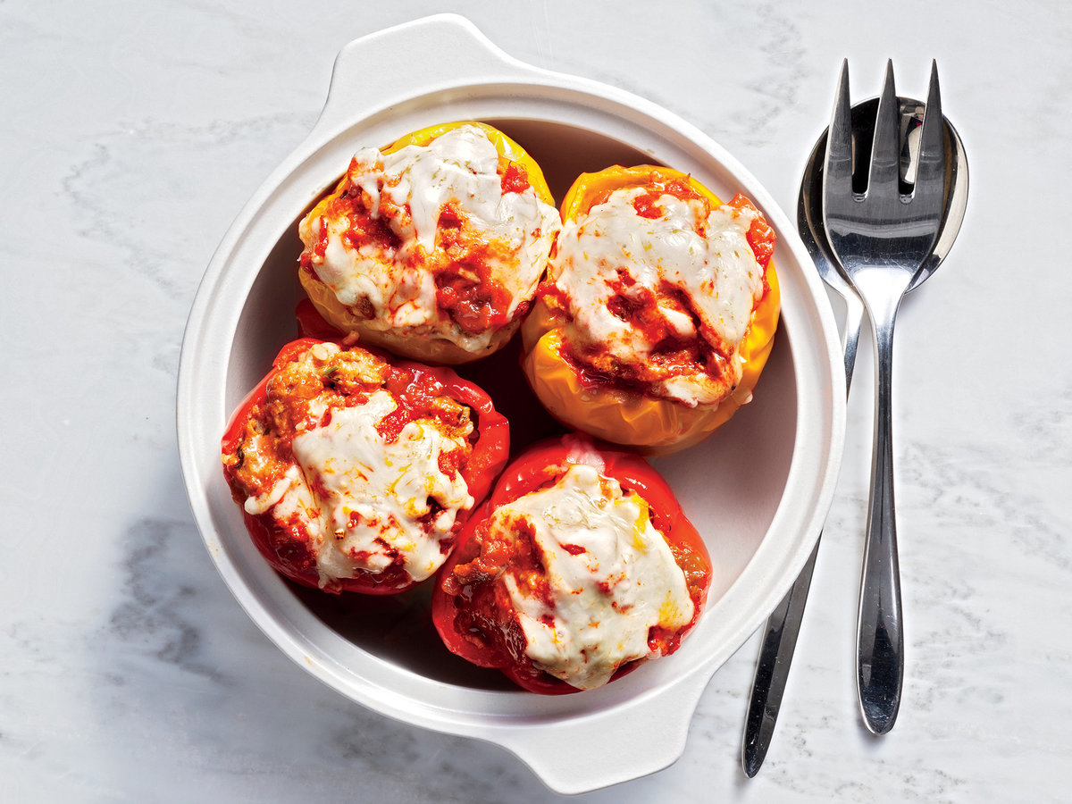 The Perfect Instant Pot Stuffed Pepper Recipe