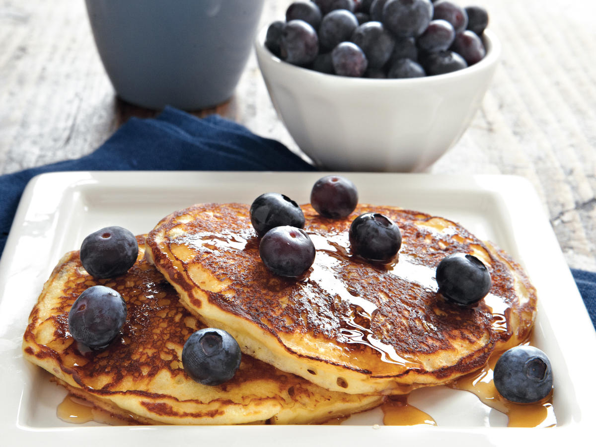 1801w Blueberry Pancakes