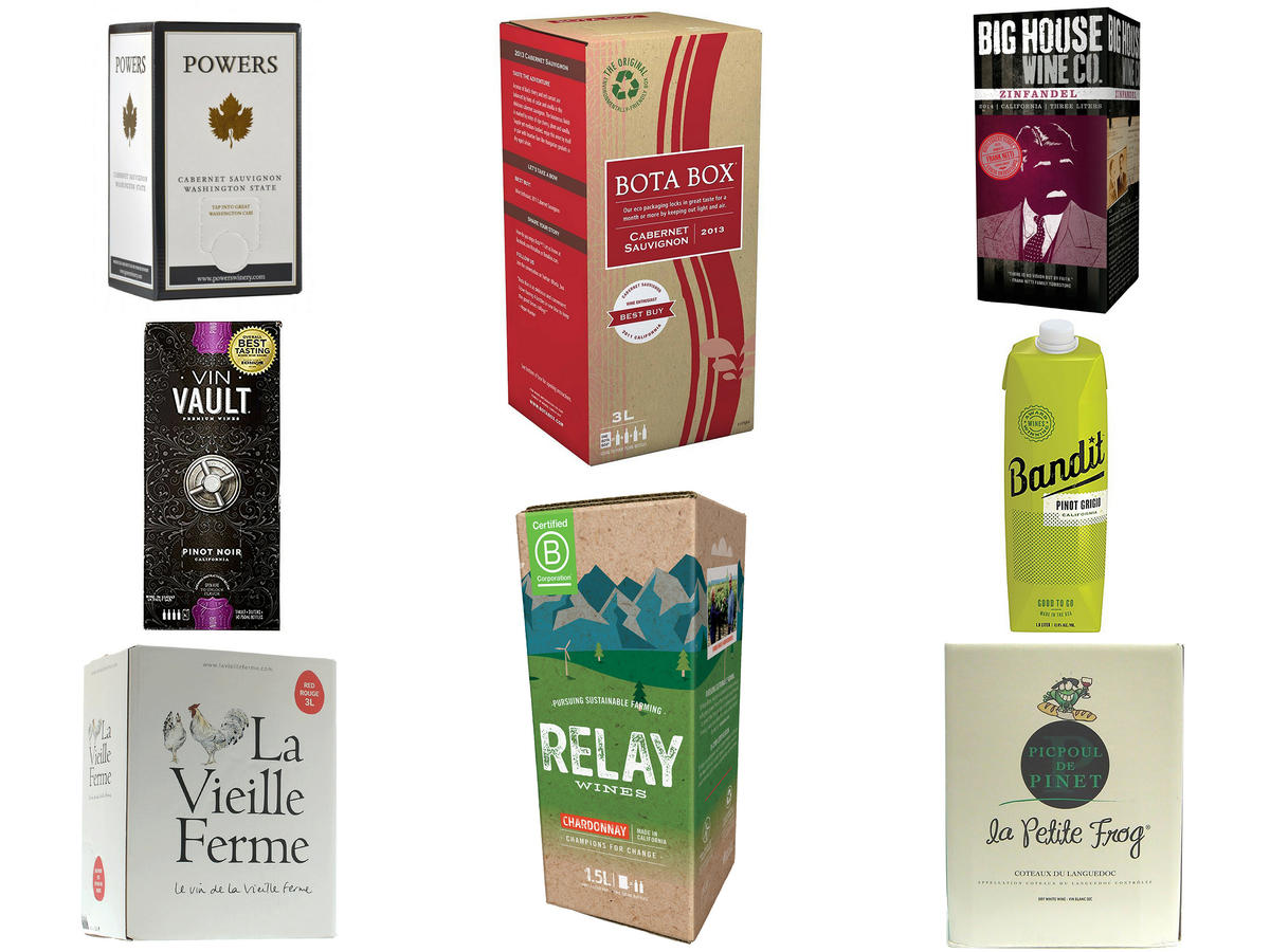 We Tried 23 Boxed Wines—Here Are the 8 You Should be Drinking