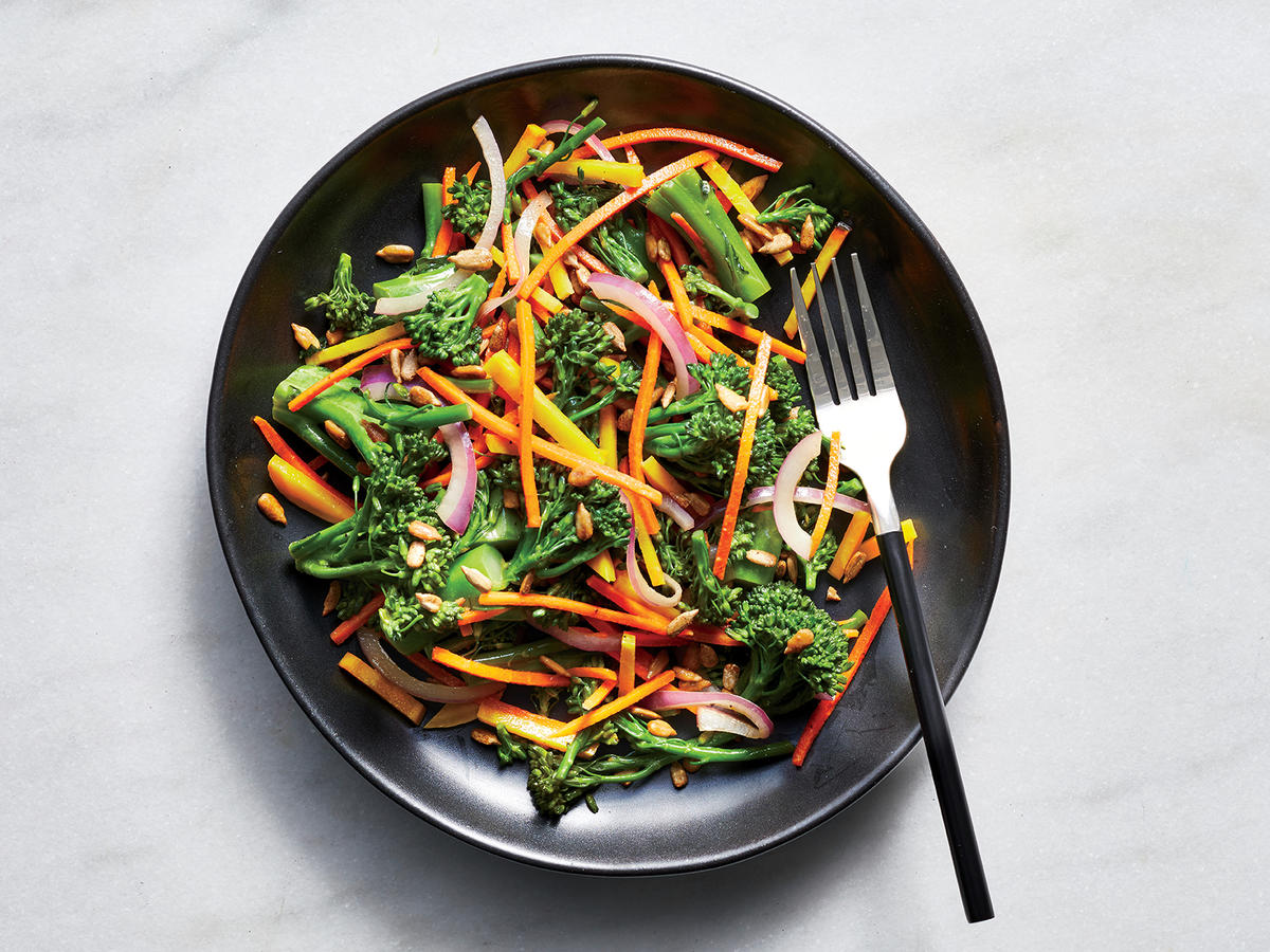 Broccolini Slaw Makes a Healthy, Hearty Lunch or Side