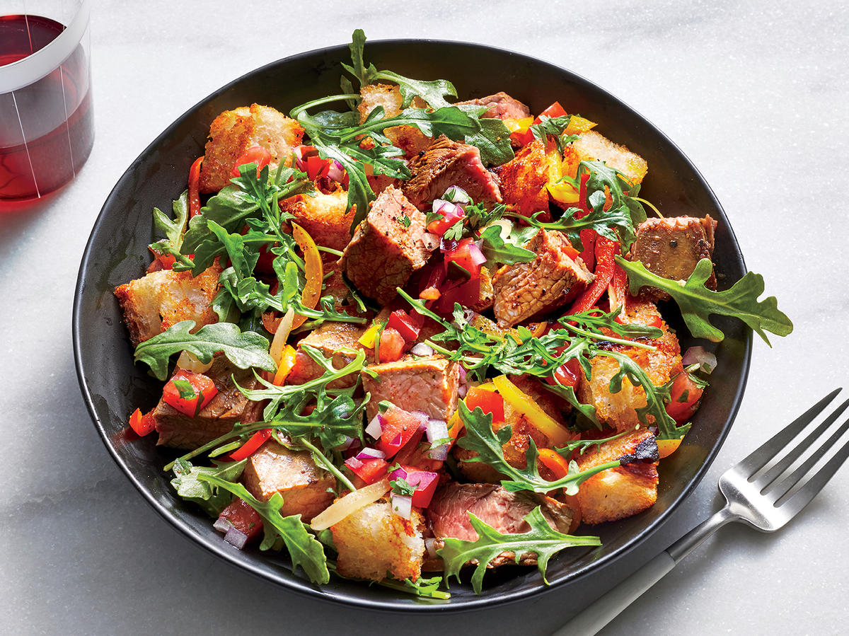 Wednesday: Fajita Panzanella Salad