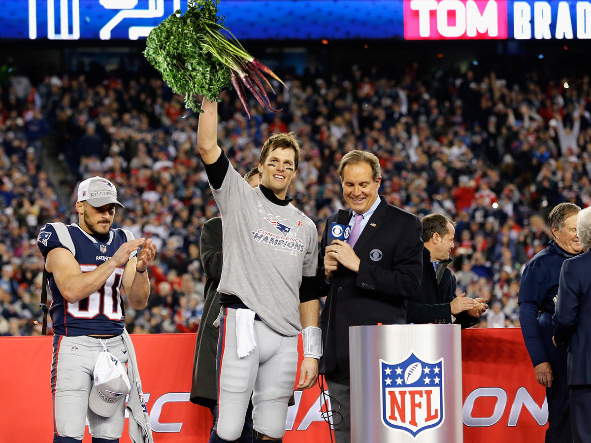I Genuinely Enjoy Tom Brady's Purple Carrots