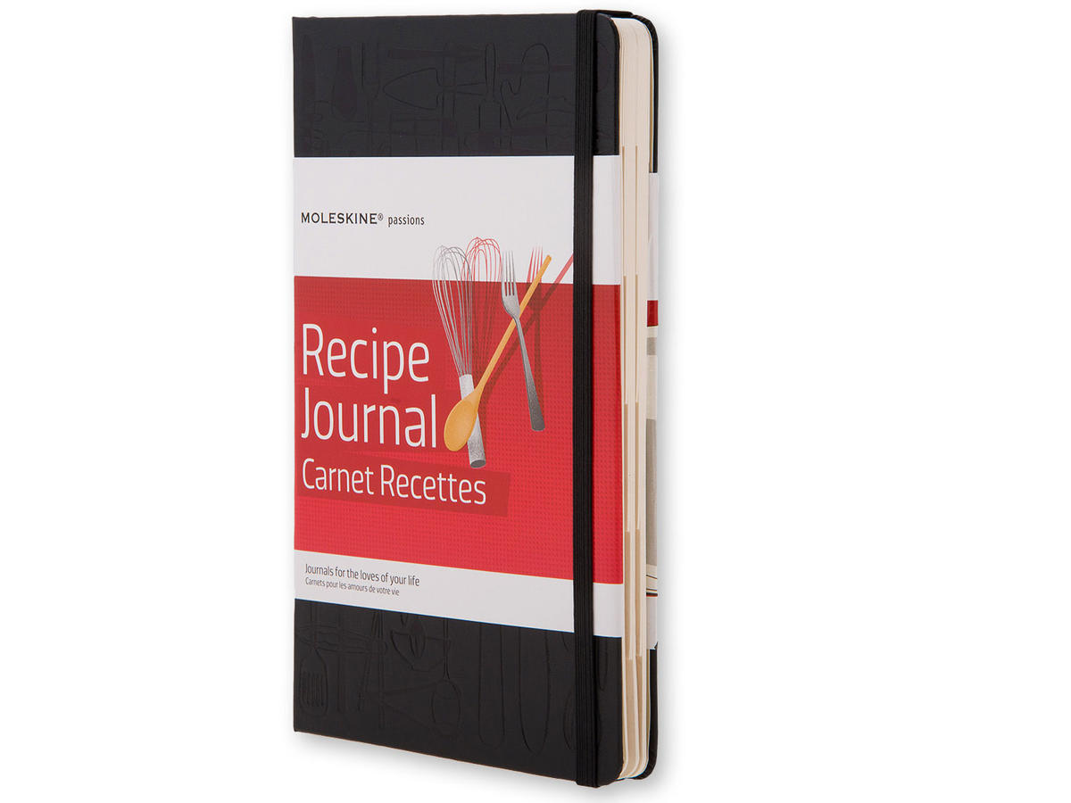 Passion journal for recipes