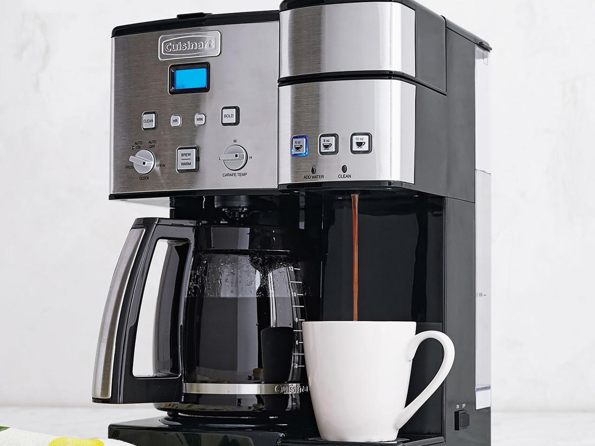 1802w Cuisinart Dual Coffee Maker
