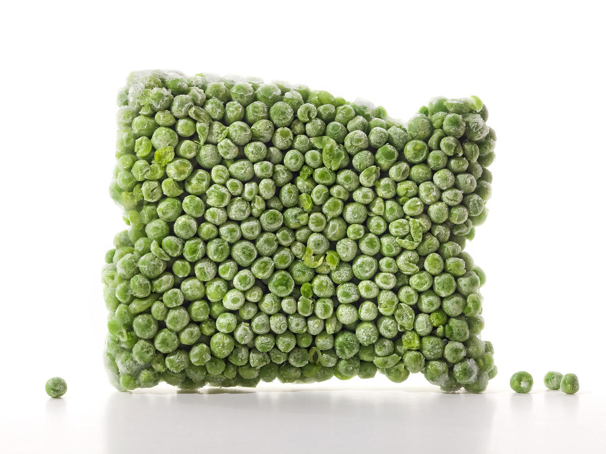 Frozen Block of Peas