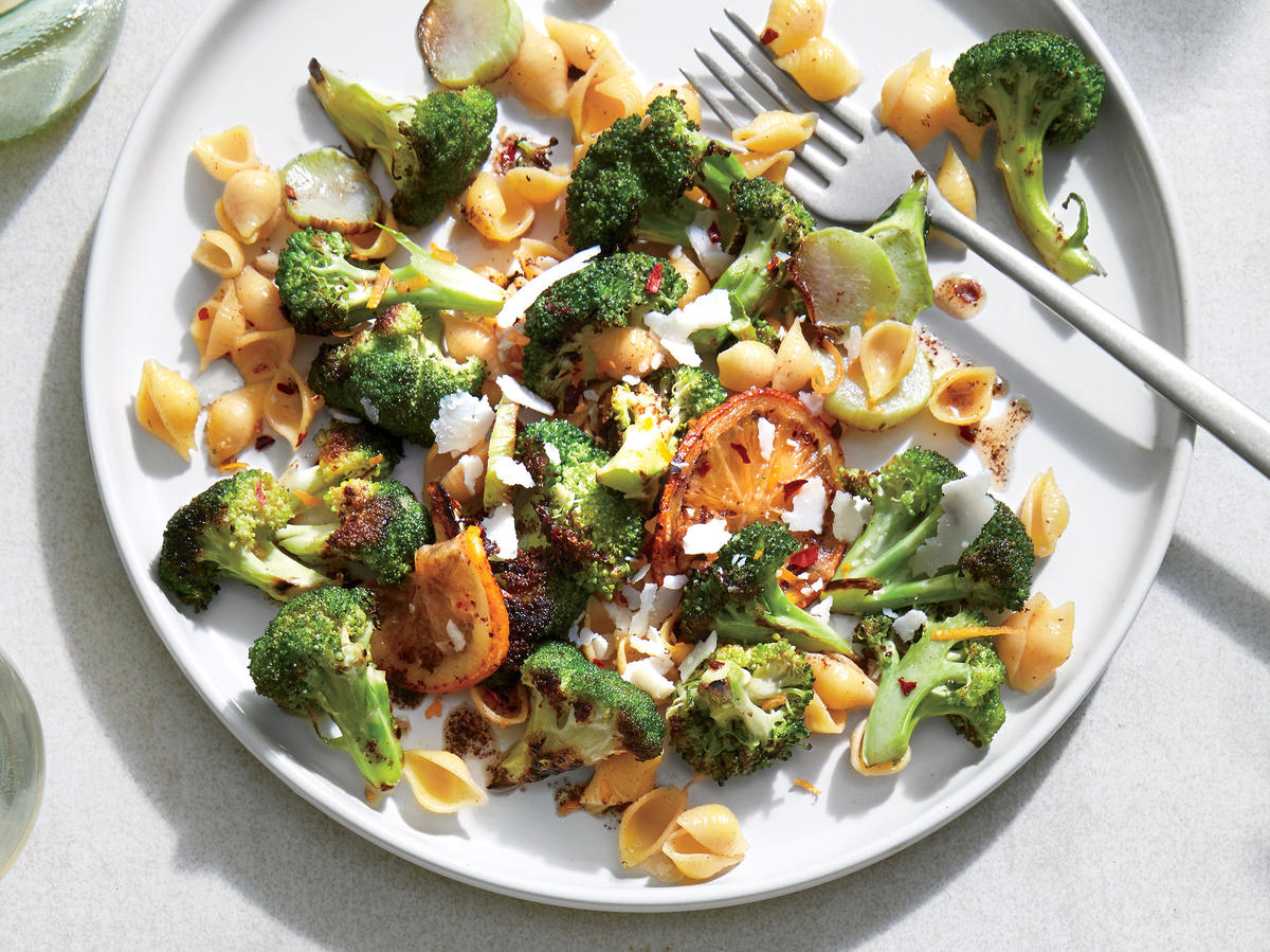 July: Broccoli, Lemon, and Browned Butter Pasta