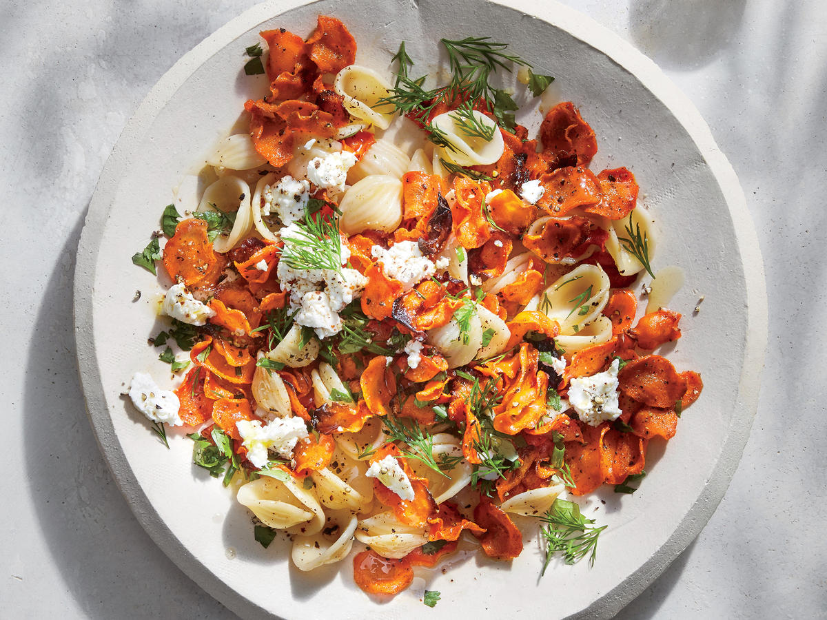 Wednesday: Carrot Orecchiette