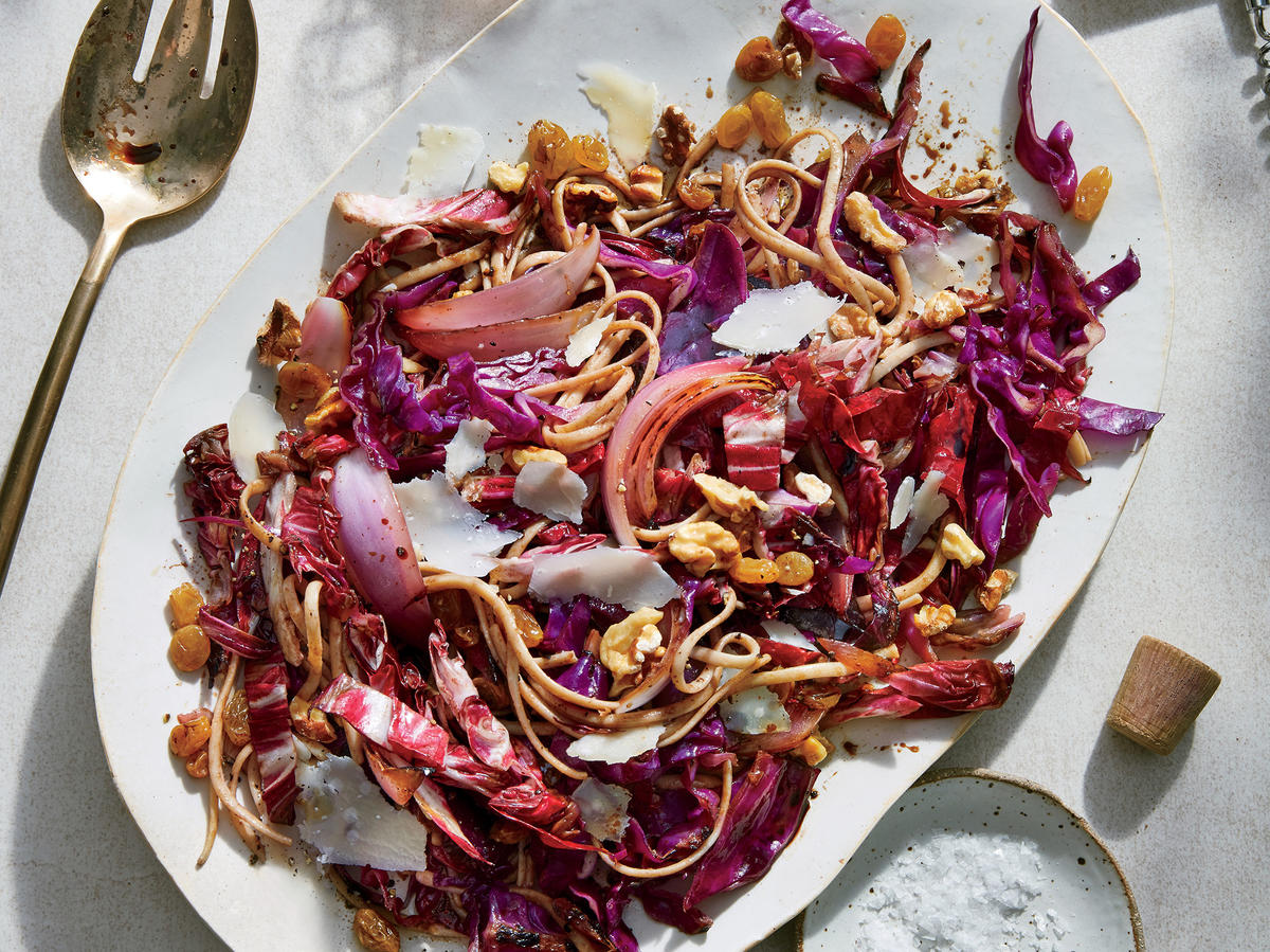 Reinvent Pasta With Seared Radicchio, Red Cabbage, and ...