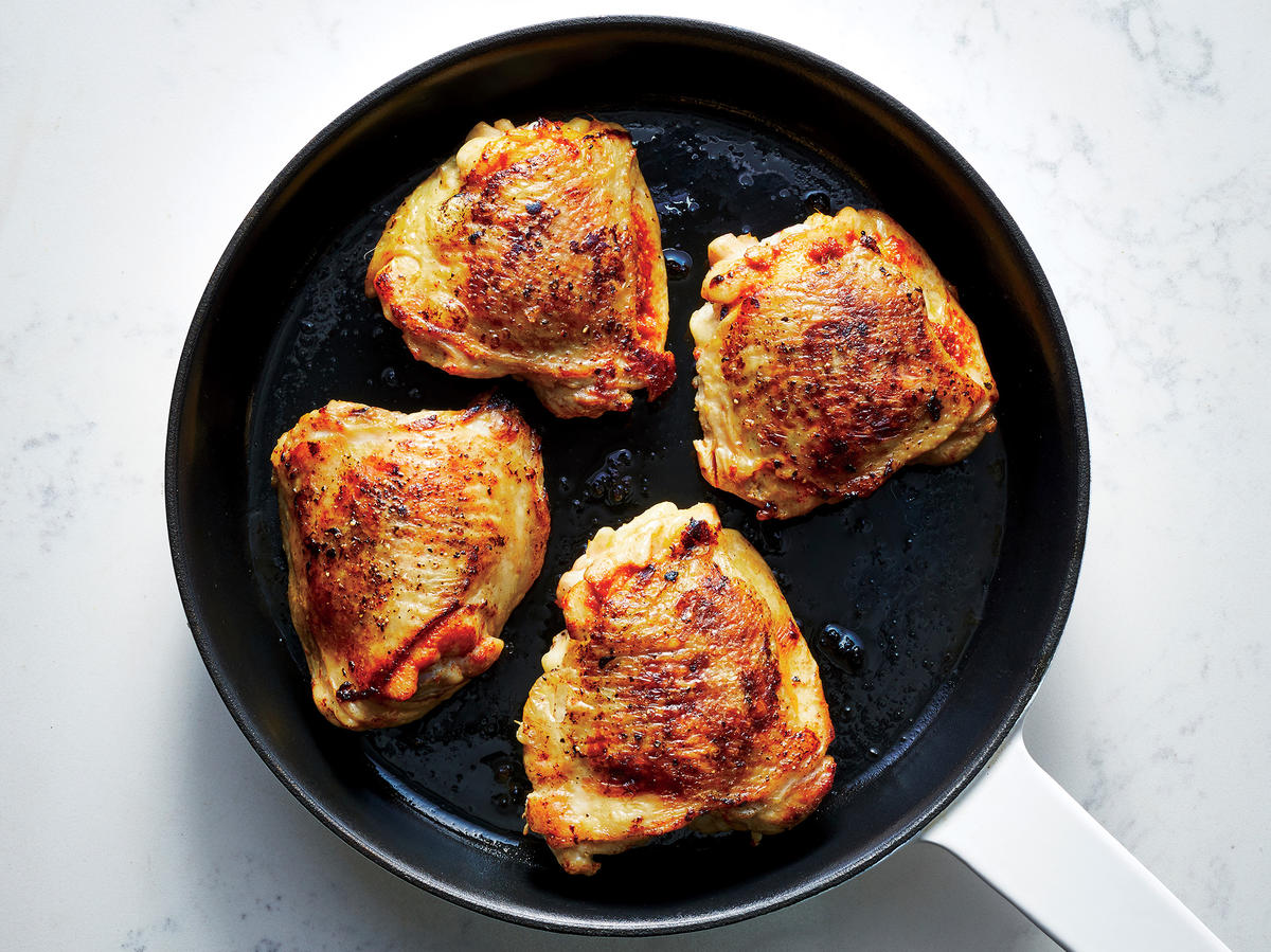 Spice Up Chicken Thighs With a Simple Red Curry Paste