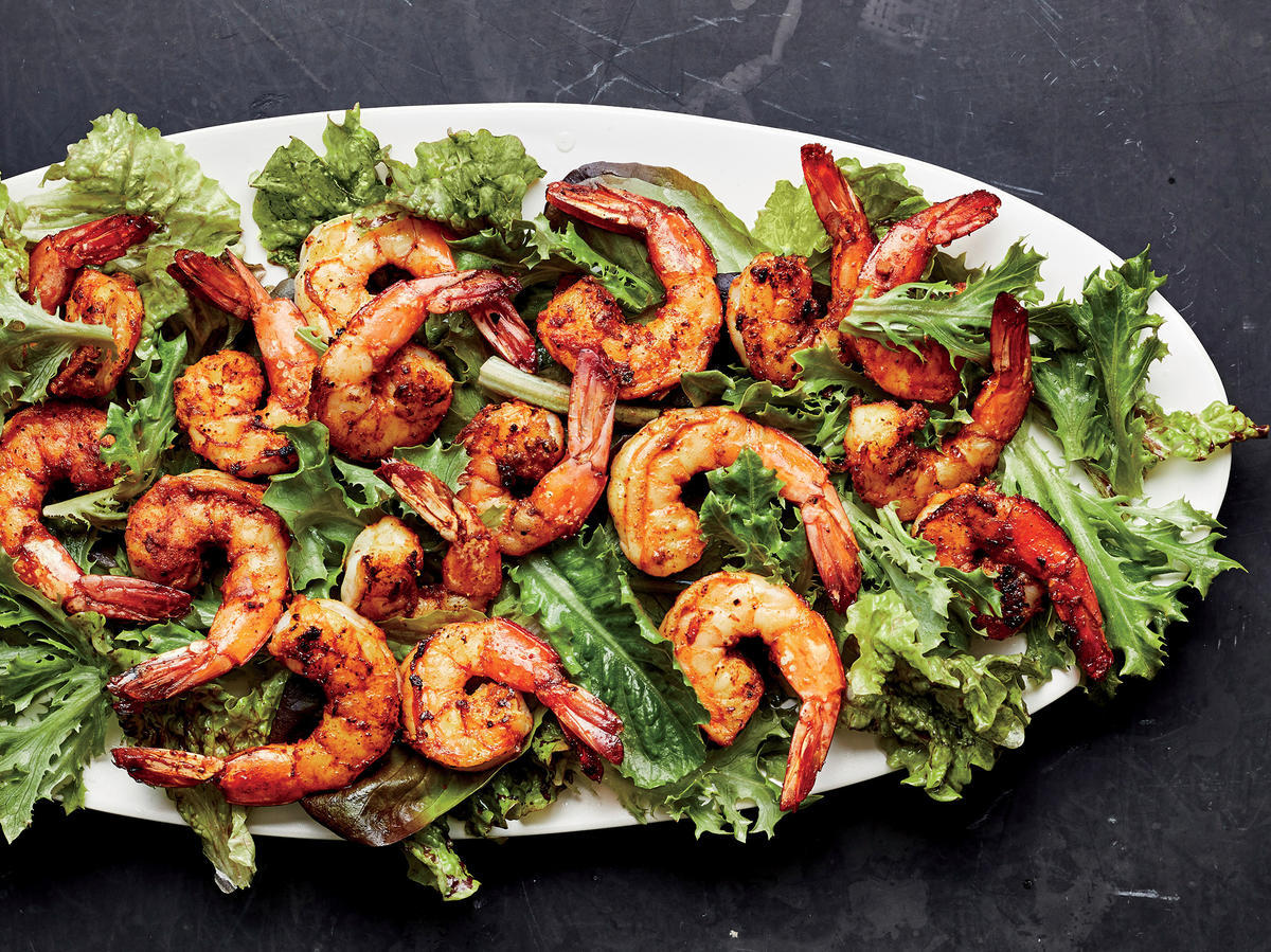 Indian Spice-Rubbed Shrimp