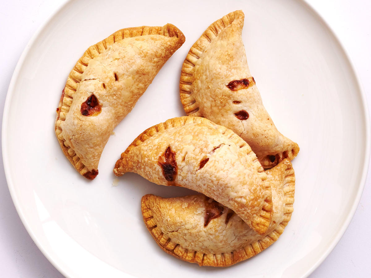 Air-Fried Peach Hand Pie