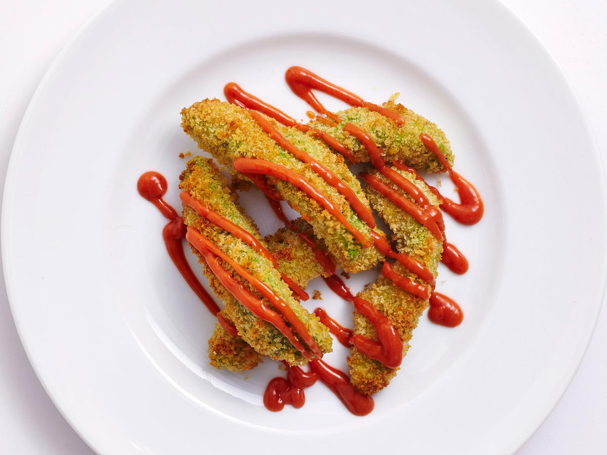 How To Make Avocado Fries In An Air Fryer Recipe Cooking