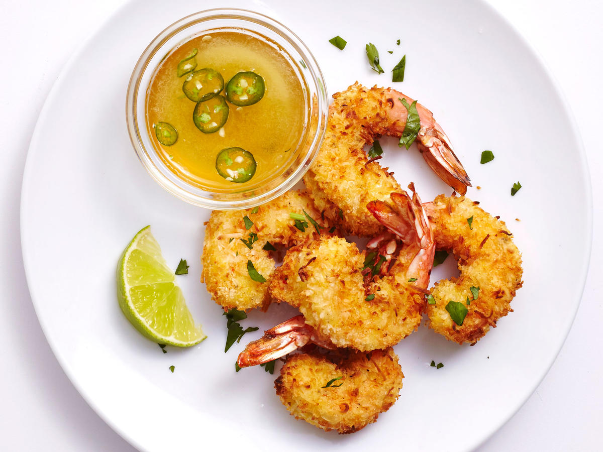 These Air-Fried Coconut Shrimp Have Just 250 Calories