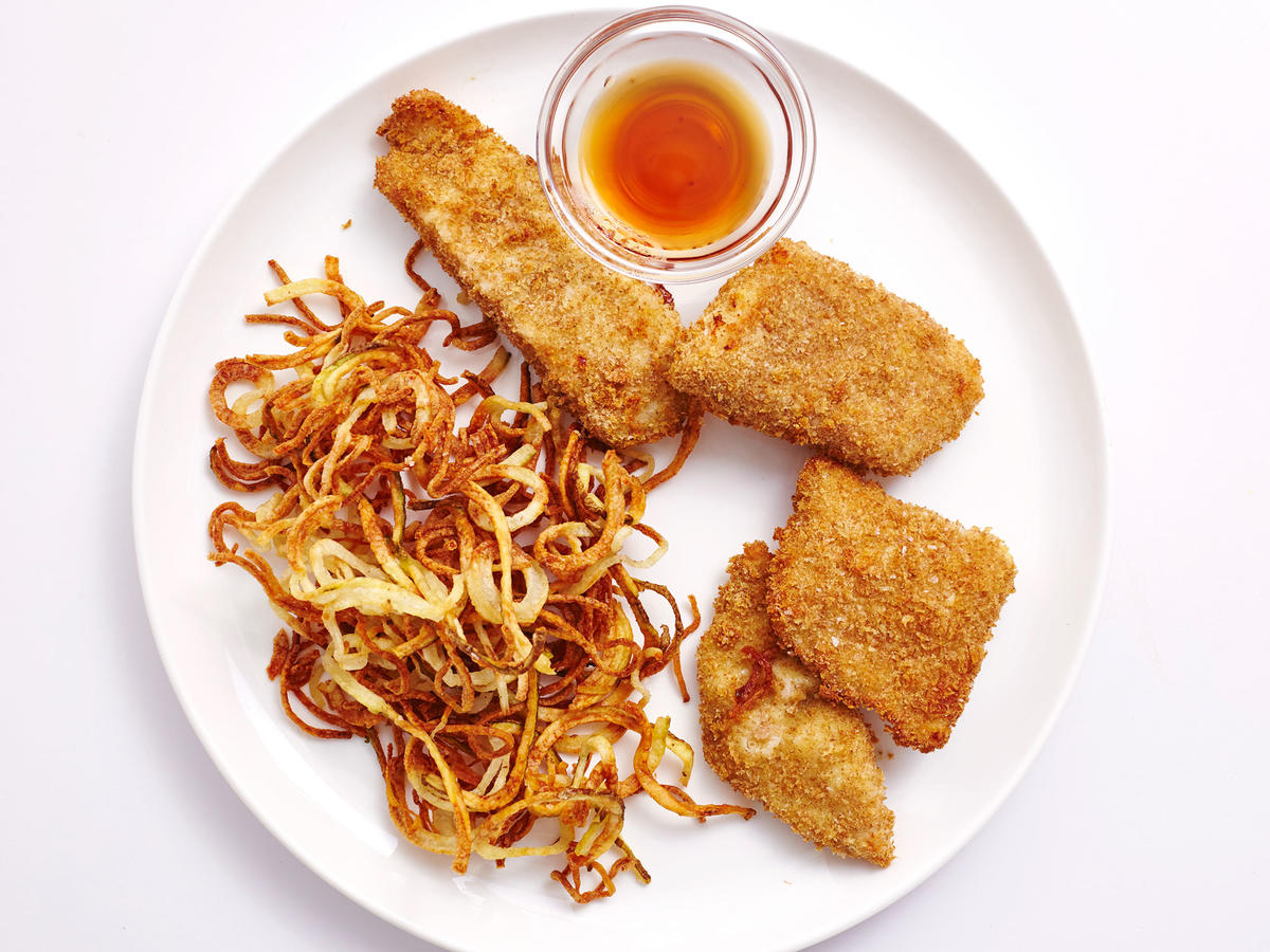 Air-Fried Fish and Chips