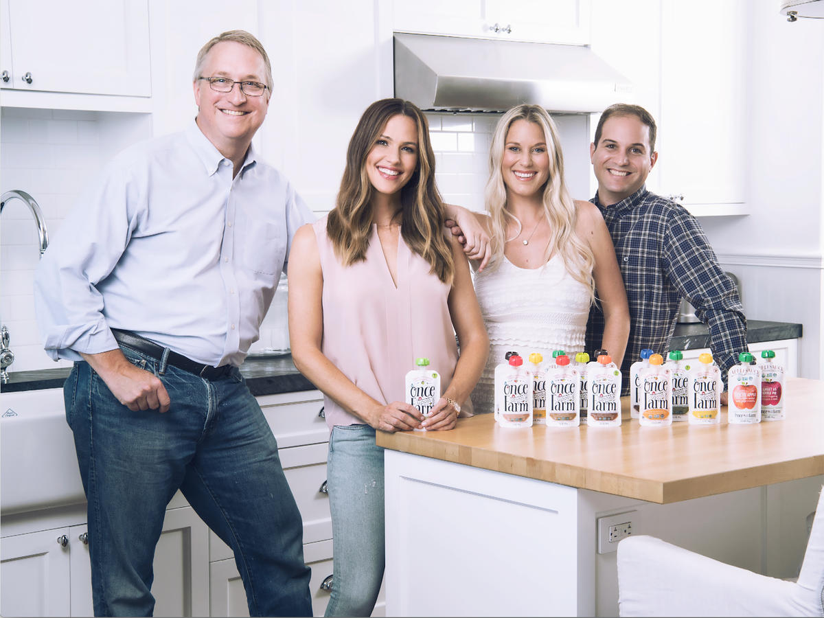 Jennifer Garner Is on a Mission to Make Baby Food Better