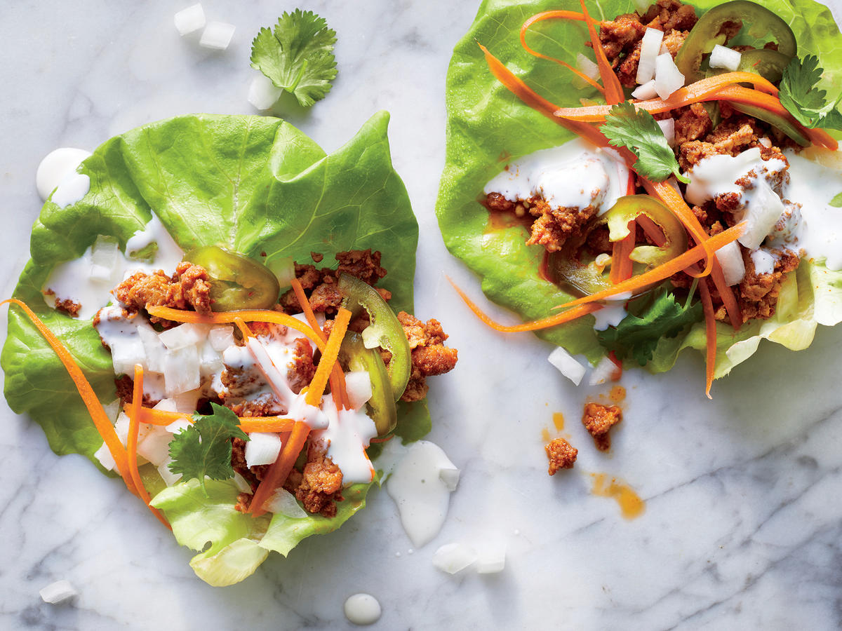 Friday: Taco Truck Lettuce Wraps