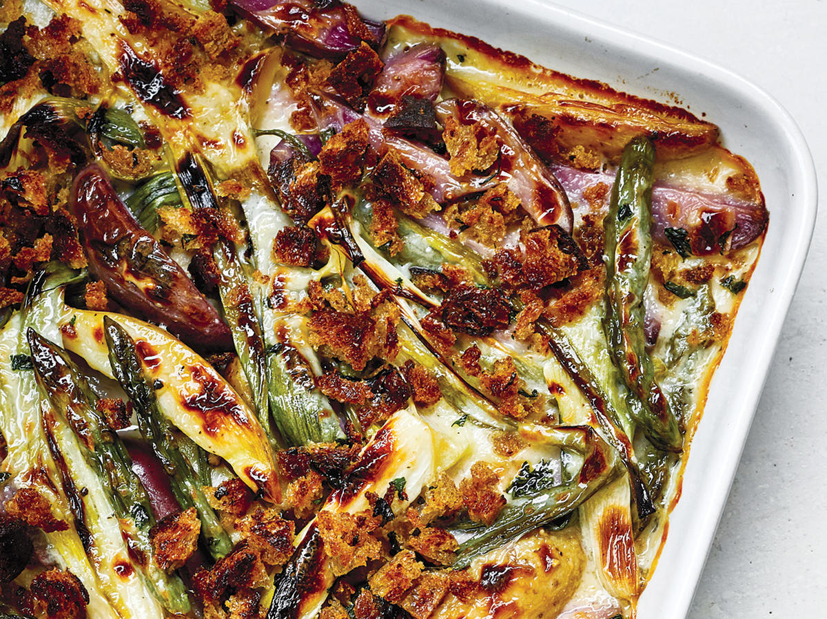 This Asparagus, Onion and Potato Gratin Makes a Great ...