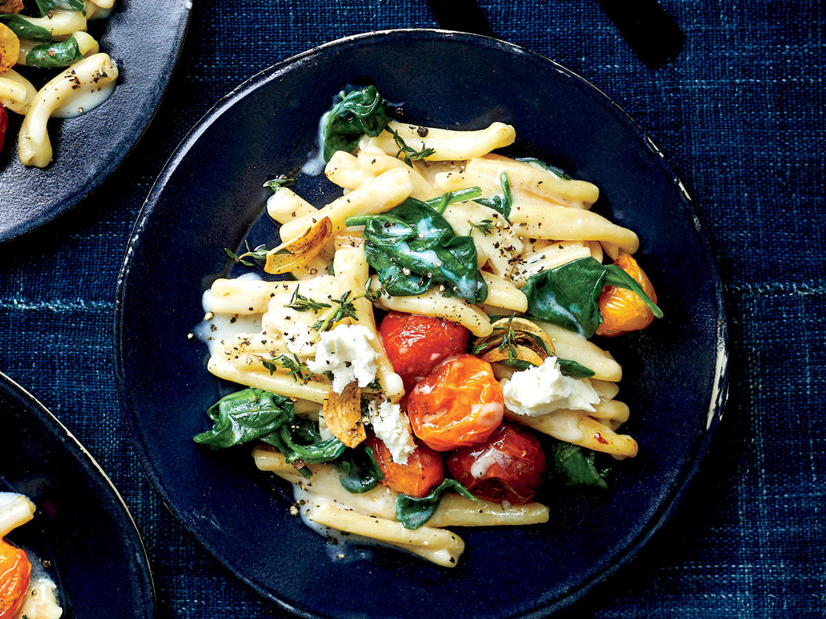 Pasta with Miso Cream Sauce