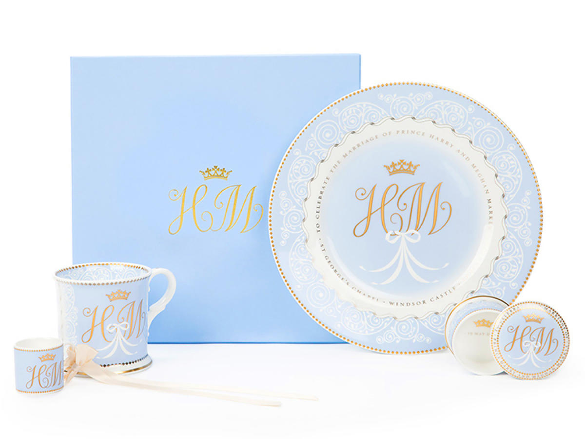 1803w Markle Wedding China